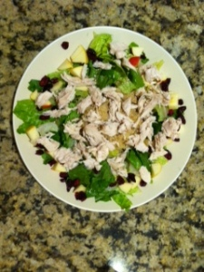 Chicken Quinoa Apple Salad