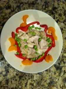 Chicken Edamame
