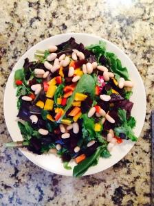 Bean and Beet Salad